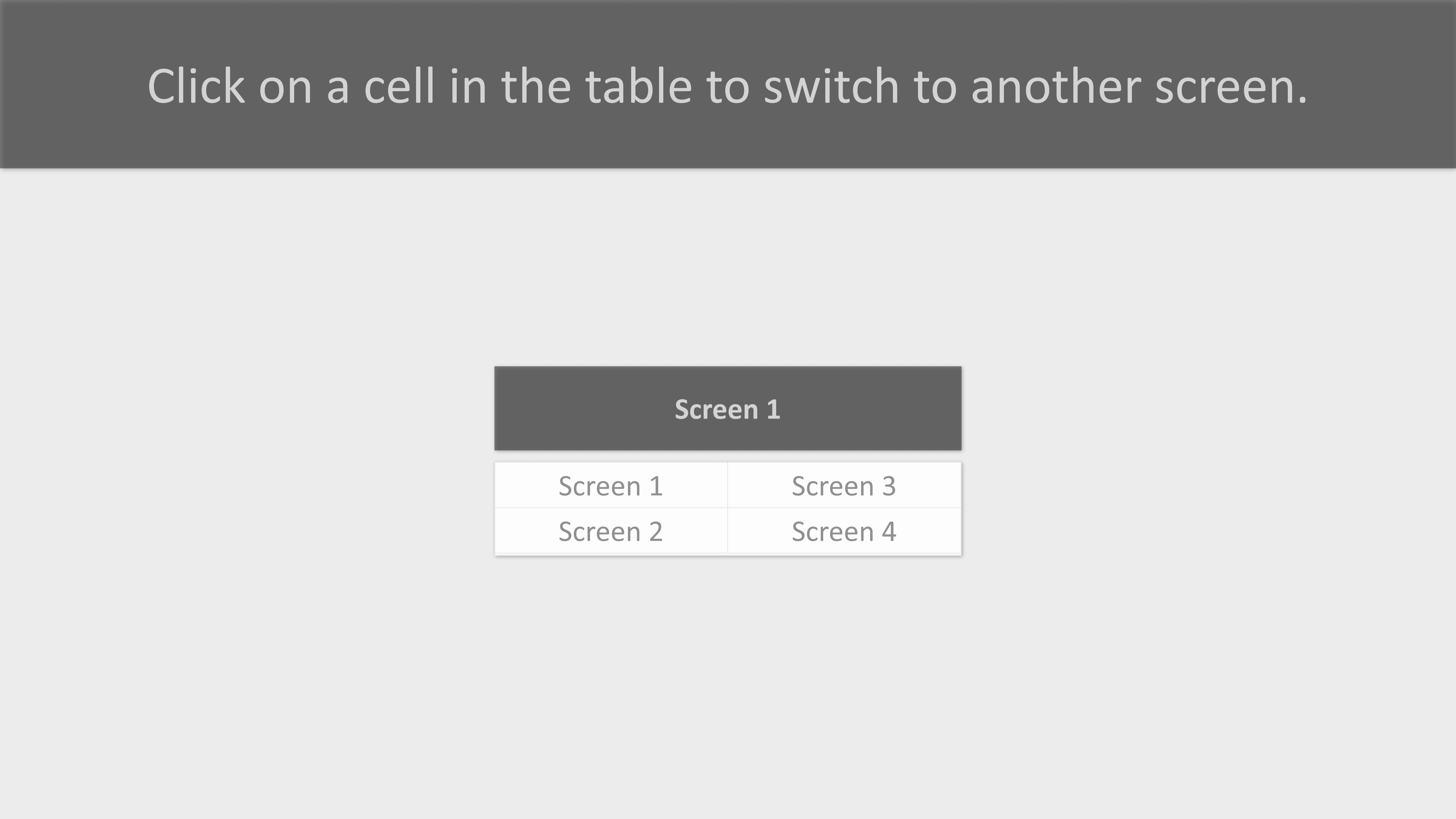 script example for interactive table cells